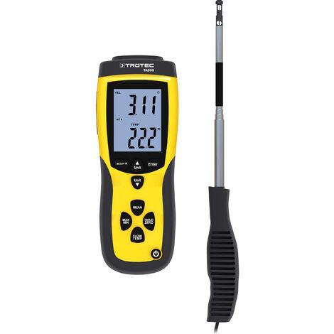 TROTEC Anemómetro TA300 sonda recta incl. certificado de calibración