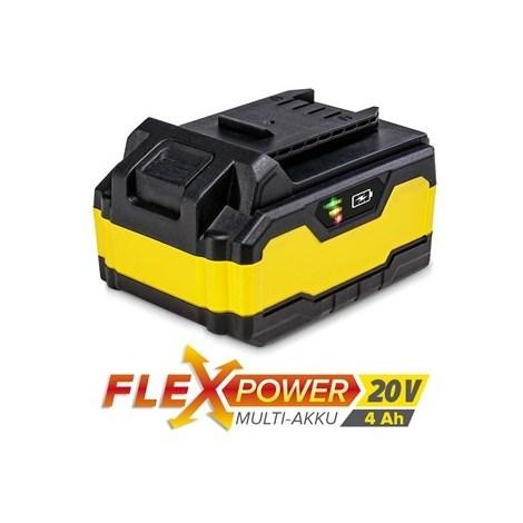 TROTEC Batería de repuesto Flexpower 20V 4,0 Ah