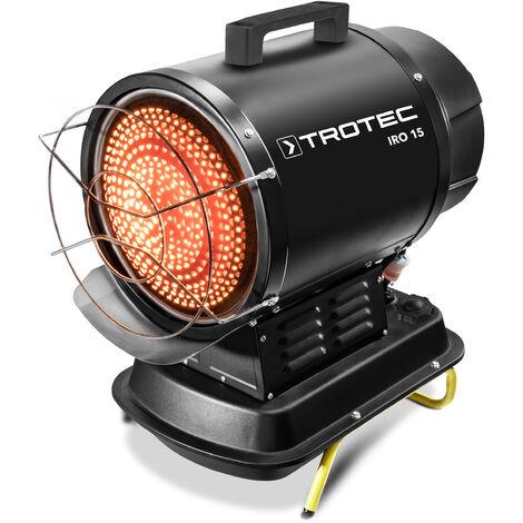 Trotec Calefactor de fueloil por radiación infrarroja IRO 15