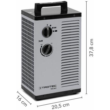 Trotec Calefactor electrico de cerámica TDS 20 P