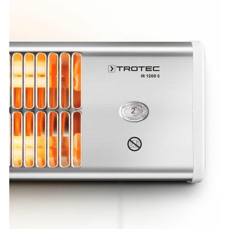 Calefactor por radiación infrarrojo cuerda regulable