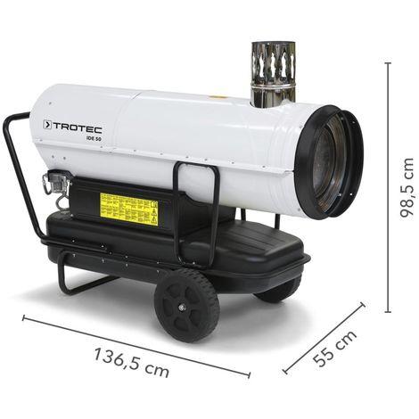 TROTEC Canon à air chaud au fioul IDE 50