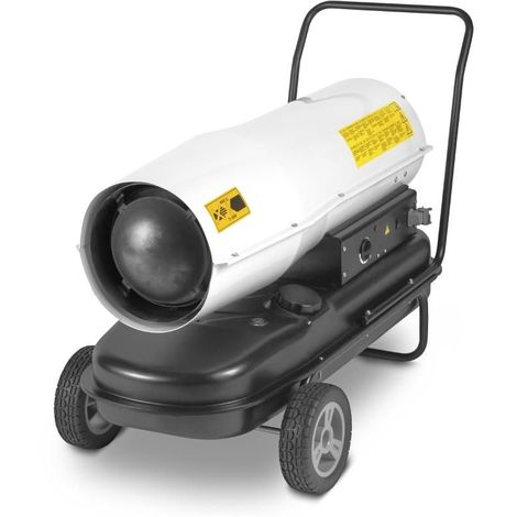 TROTEC Chauffage au fioul à combustion directe IDE 60 D