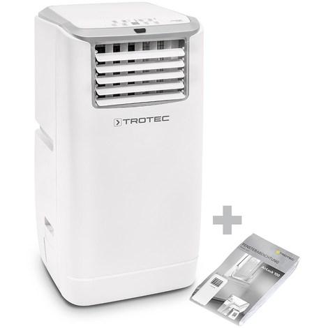 TROTEC Climatiseur local monobloc PAC 3200 E A+ + Kit de calfeutrage AirLock 100