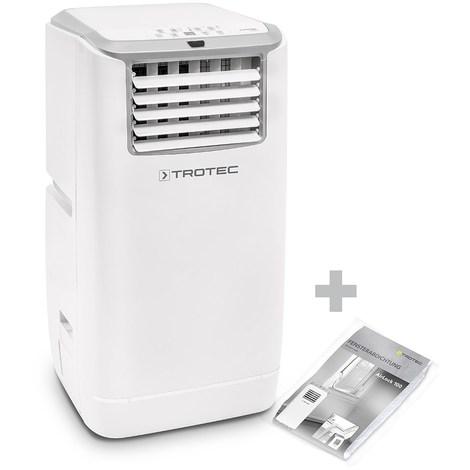 TROTEC Climatiseur local monobloc PAC 4100 E + AirLock 100
