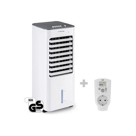 TROTEC Climatizador Aircooler PAE 21 + Enchufe con higrostato BH30