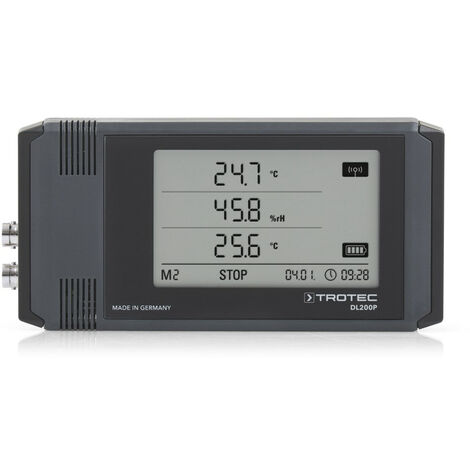 TROTEC Datalogger profesional DL200P color gris antracita