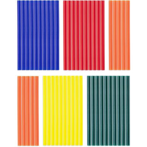 Trotec Heissklebestifte-Set Bunt, 50 Stück (Ø 7 mm)