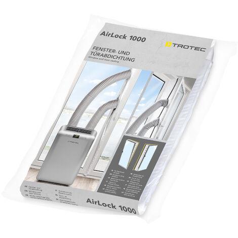 Trotec Impermeabilización de ventanas de suelo a techo y puertas AirLock 1000