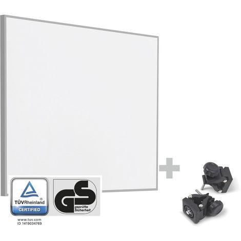 TROTEC Infrarot-Heizplatte / Infrarotheizung TIH 400 S + Befestigungsklammern