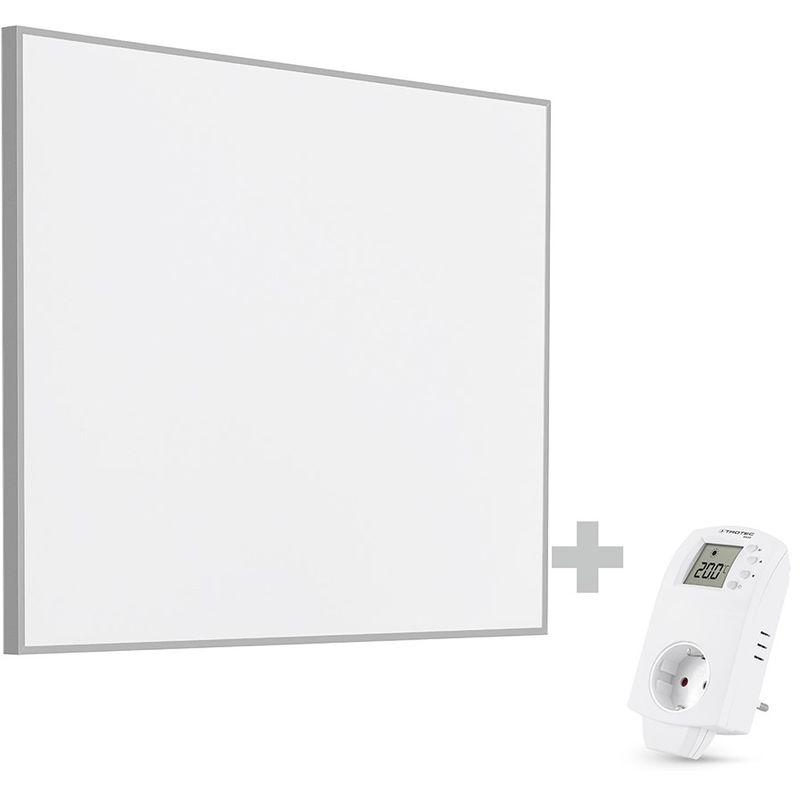 Steckdosen-Thermostat BN30 und Standf/ü/ße TROTEC TIH 300 S Infrarot-Heizplatte Infrarotheizung Heizpaneel 300 Watt inkl