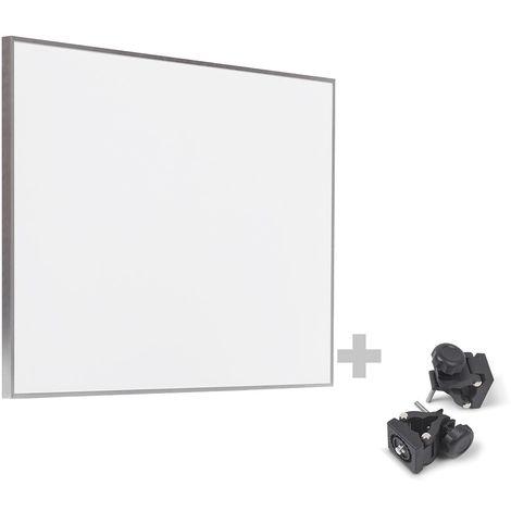 TROTEC Infrarot-Heizplatte / Infrarotheizung TIH 500 S + Befestigungsklammern