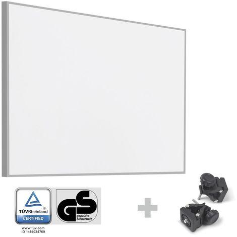 TROTEC Infrarot-Heizplatte / Infrarotheizung TIH 900 S + Befestigungsklammern
