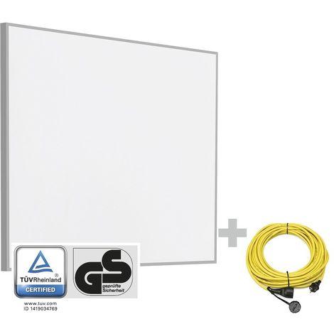 TROTEC Infrarot-Heizplatte TIH 400 S + Profi-Verlängerungskabel 20 m / 230 V / 2,5 mm² - Made in Germany