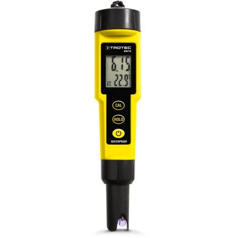 TROTEC Medidor de análisis de líquidos BW10