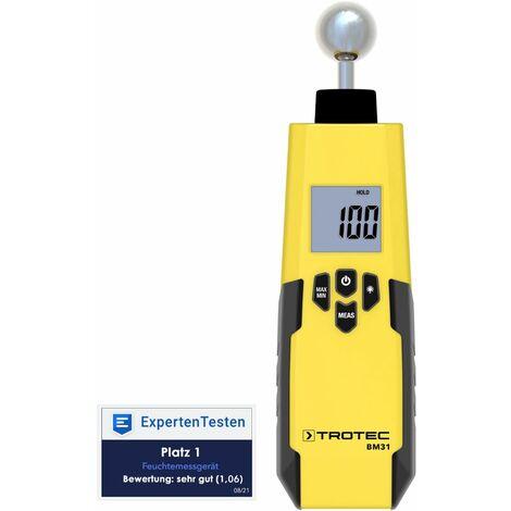 TROTEC Medidor de humedad BM31