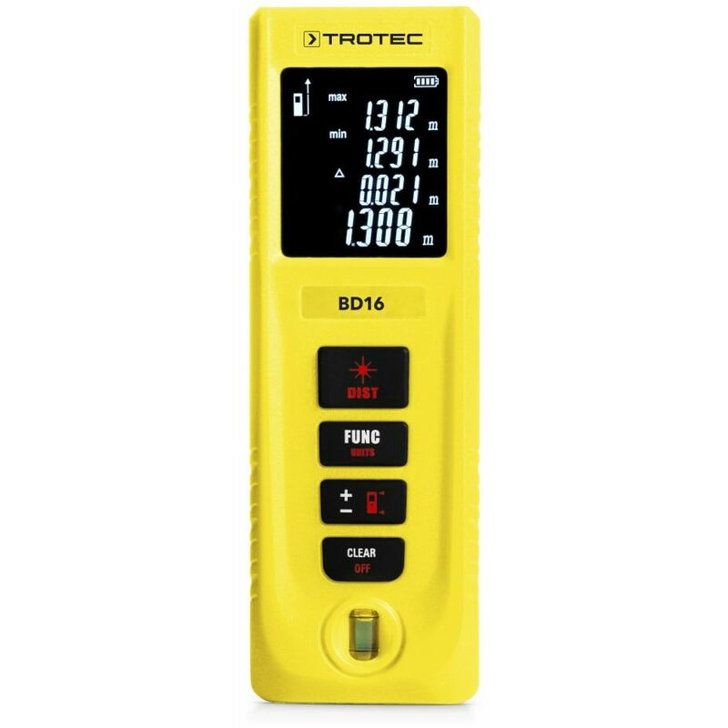 TROTEC BD16 Misuratore laser di distanza