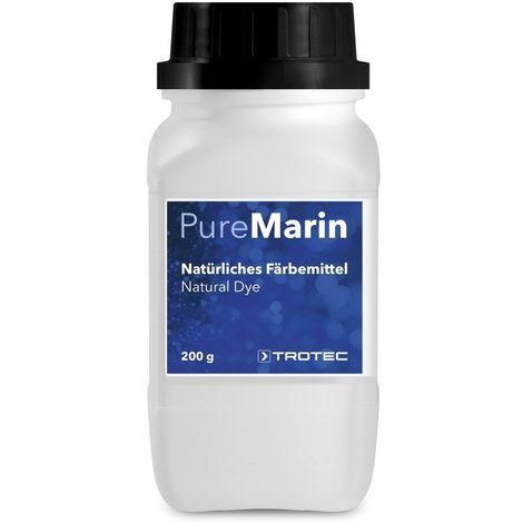 TROTEC Natürliches Färbemittel Blau PureMarin 200 g
