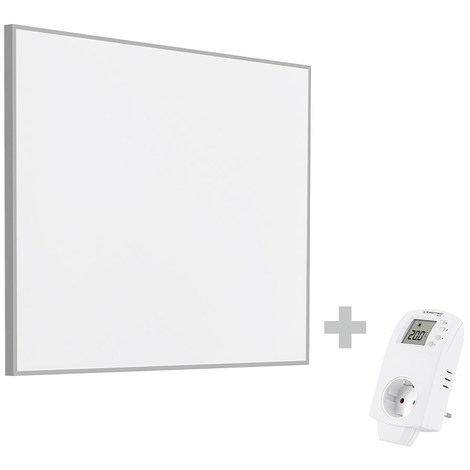 TROTEC Panel calefactor infrarrojo TIH 300 S + Enchufe-Termostato BN30