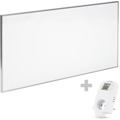 TROTEC Panel calefactor infrarrojo TIH 700 S + Enchufe-Termostato BN30