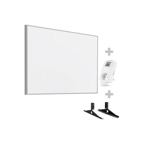 TROTEC Panel calefactor infrarrojo TIH 900 S + Enchufe-termostato BN 30 y pie de soporte