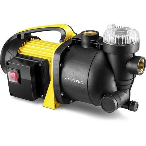TROTEC Pompe de jardin à filtre intégré TGP 1005 E