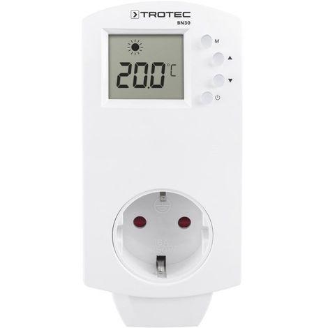 TROTEC Steckdosen-Thermostat BN30