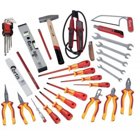 Trousse a outils électriciens 37 pièces FORTIS