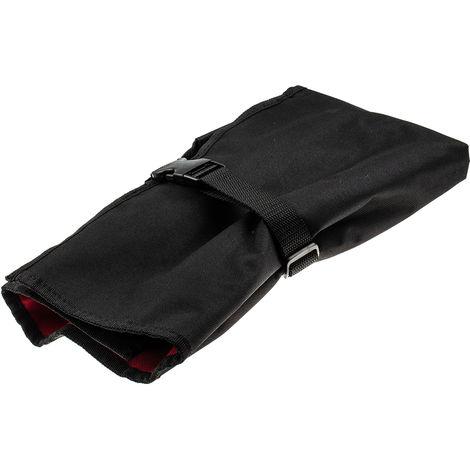 Trousse à outils souple Polyester 580mm x 510mm Noir, Rouge