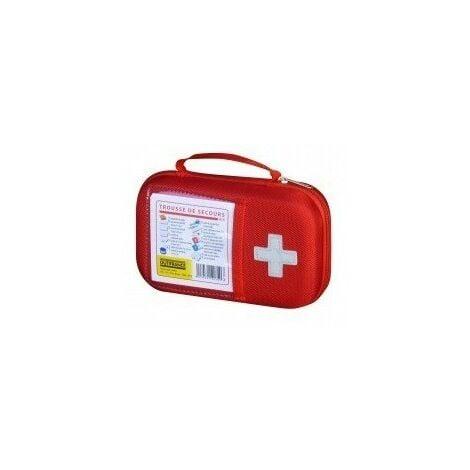 Trousse secours btp 22x14x6cmeva rouge - btp