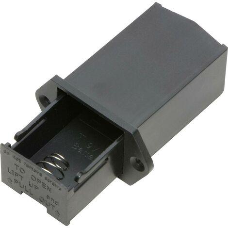 TRU COMPONENTS SBH-9V-COM Batteriehalter 1x 9V Block Lötanschluss X453011