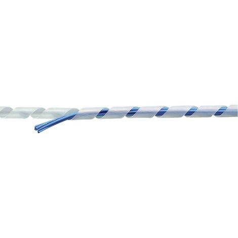 TRU Components TC-KSR19BK203 Spiralschlauch 15 bis 50mm Schwarz 10m S029391