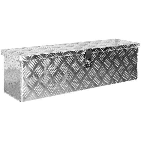 Alumium Truckbox Werkzeugbox Werkzeugkiste Anhängerbox Alubox Deichselbox V2Aox