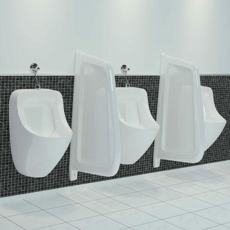 True Deal Brise-vue pour urinoir mural Céramique Blanc