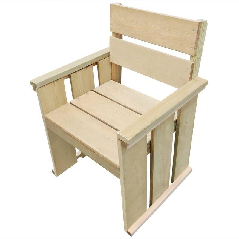 True Deal - Chaise d'extérieur Pinède imprégnée