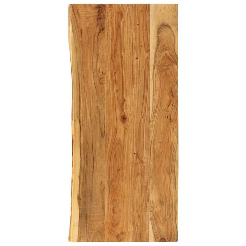 Dessus de meuble-lavabo de salle de bain Acacia 120x55x3,8 cm - True Deal