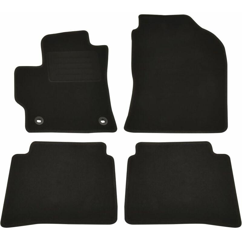 Ensemble de tapis d'auto 4 pcs pour Toyota Corolla Hybride