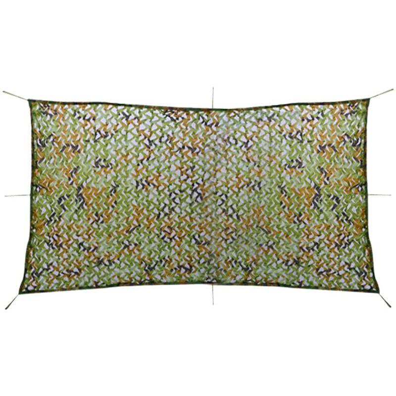 Filet de camouflage avec sac de rangement 1,5 x 3 m