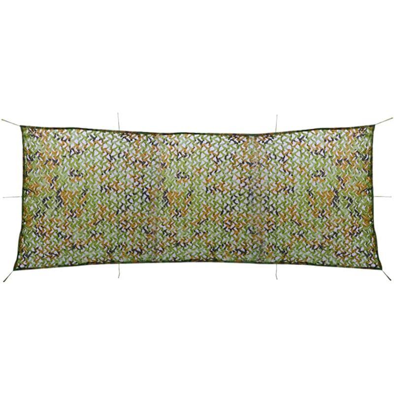 Filet de camouflage avec sac de rangement 1,5 x 4 m