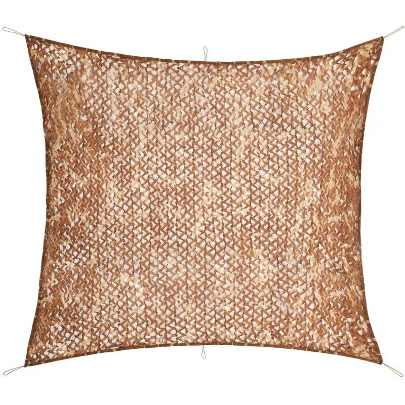 Filet de camouflage avec sac de rangement 3 x 3 m