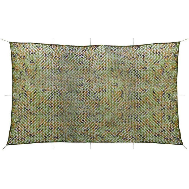 Filet de camouflage avec sac de rangement 3 x 5 m