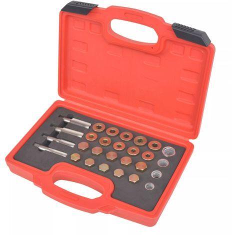 True Deal Kit de réparation de bouchon de vidange d'huile 64 pcs