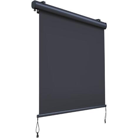 True Deal store vertical enrouleur extérieur Paravent Pare-Soleil Brise-Vue 1.4X2.5m