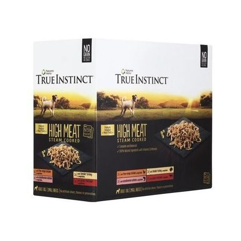 """main image of """"True Instinct Fillet Small Breed Dog Food Pouches (Pack Of 8) (One Size) (Mixed)"""""""