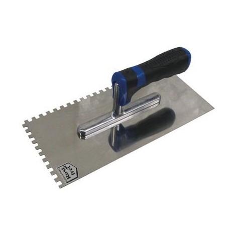 Truelle à polir - denté - 10 x 10 mm