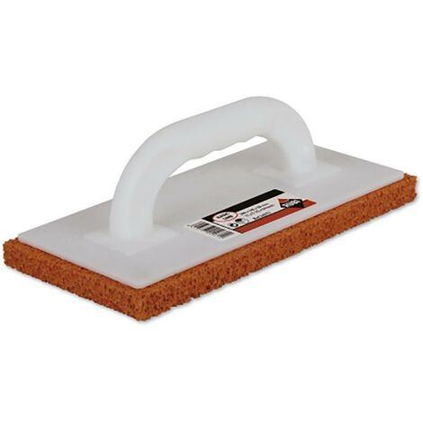 Truelle de briqueteur 280X140X10Mm Finition-Nettoyage de la surface de l'extrémité Rubi Blpro caoutchouc mousse manche fermé plastique brut 24971