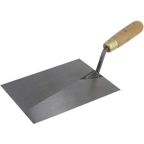 Truelle de plâtrier à dégrossir acier Outibat - Dimensions 24 cm