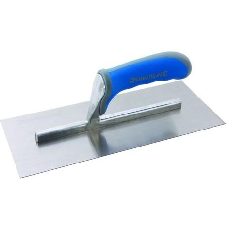 Truelle de plâtrier à poignée caoutchoutée 280 mm