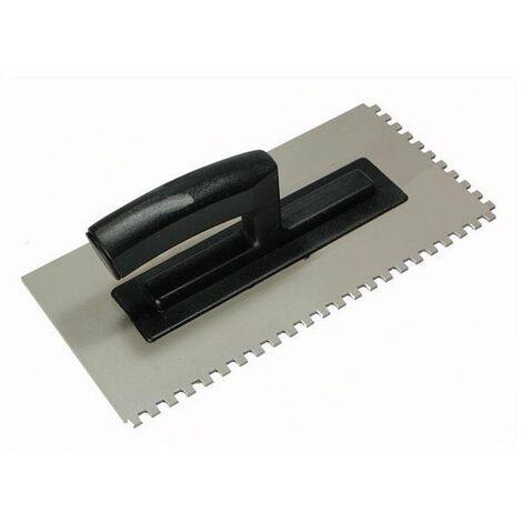 Truelle , polir - ,paisseur 3 mm - dent,