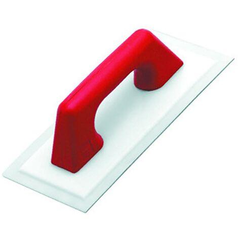 Truelle pour Briqueteur 300X140Mm Pour Plâtre Rubi Polyéthylène Anti-adhésif Flexible Plastique Manche Fermé 71904
